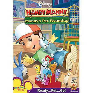 Disney Handy Manny: Mannys Pet Roundup DVD