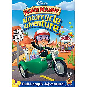 Disney Handy Manny: Motorcycle Adventure DVD