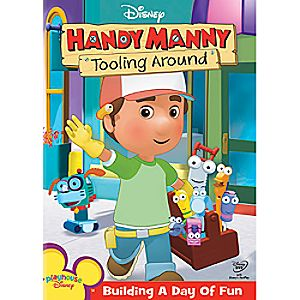 Disney Handy Manny: Tooling Around DVD