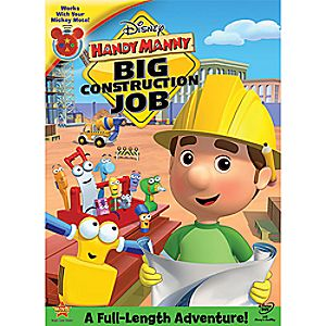 Disney Handy Manny: Big Construction Job DVD