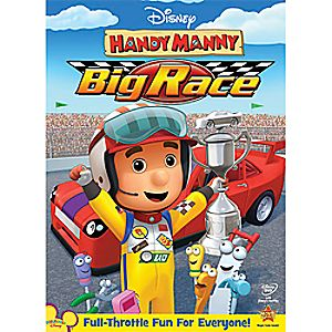 Disney Handy Manny: Big Race DVD