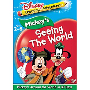 Disney Learning Adventures: Mickeys Around the World in Eighty Days DVD