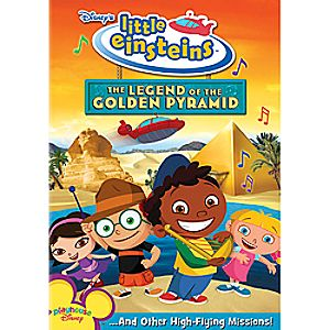 Disney Little Einsteins: The Legend of the Golden Pyramid DVD