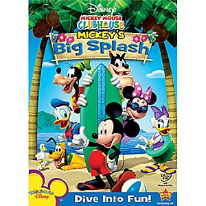 Disney Mickey Mouse Clubhouse: Mickeys Big Splash DVD