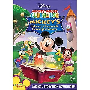 Disney Mickey Mouse Clubhouse: Mickeys Storybook Surprises DVD