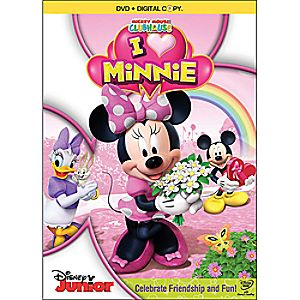Disney Mickey Mouse Clubhouse: I Heart Minnie 2-Disc DVD and Digital Copy