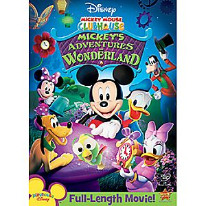 Disney Mickey Mouse Clubhouse: Mickeys Adventures in Wonderland DVD