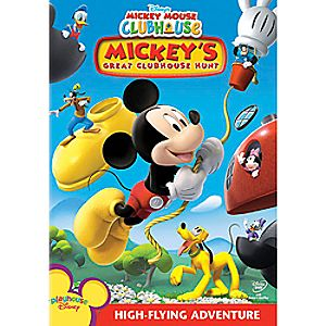 Disney Mickey Mouse Clubhouse: Mickeys Great Clubhouse Hunt DVD