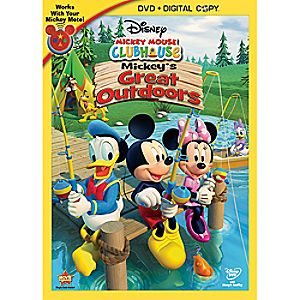 Disney Mickey Mouse Clubhouse: Mickeys Great Outdoors 2-Disc DVD and Digital Copy