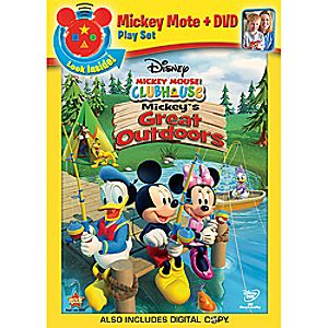 Disney Mickey Mouse Clubhouse: Mickeys Great Outdoors DVD and Digital Copy Plus Mote