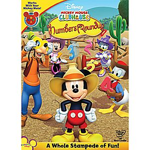 Disney Mickey Mouse Clubhouse: Mickeys Numbers Roundup DVD