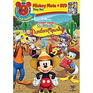 Disney Mickey Mouse Clubhouse: Mickeys Numbers Roundup DVD with Mote