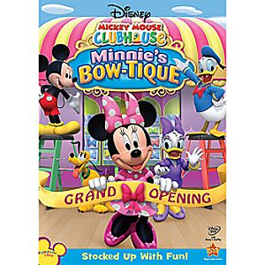 Disney Mickey Mouse Clubhouse: Minnies Bow-tique DVD