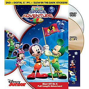 Disney Mickey Mouse Clubhouse: Space Adventure 2-Disc DVD and Digital Copy