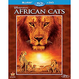 Disneynature: African Cats 2-Disc Blu-ray and DVD