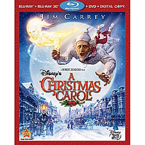 Disneys A Christmas Carol 4-Disc Blu-ray, DVD and Digital Copy