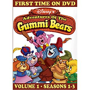 Disneys Adventures of the Gummi Bears Volume 1 DVD