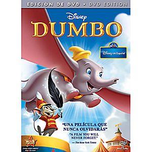 Dumbo Seventieth Anniversary Edition DVD Spanish