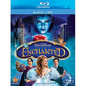 Enchanted 2-Disc Blu-ray and DVD