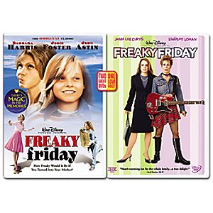 Freaky Friday 2-pack DVD
