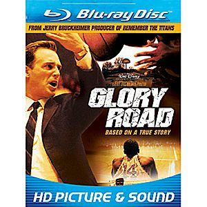 Glory Road Blu-ray DVD