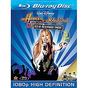 Hannah Montana and Miley Cyrus: Best of Both Worlds Concert Blu-ray