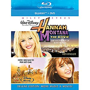 Hannah Montana: The Movie 2-Disc Blu-ray and DVD