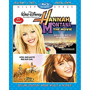 Hannah Montana: The Movie 3-Disc Blu-ray, DVD and Digital File