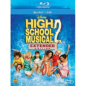 High School Musical 2 2-Disc Blu-ray and DVD