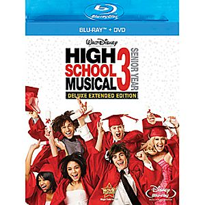 High School Musical 3: Senior Year 2-Disc Blu-ray and DVD Extended Edition