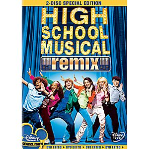 High School Musical 2-Disc Blu-ray and DVD