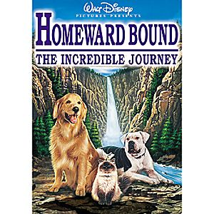 Homeward Bound: The Incredible Journey DVD
