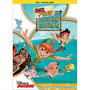Jake and the Neverland Pirates: Peter Pan Returns 2-Disc DVD and Digital File