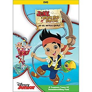 Jake and the Neverland Pirates: Yo Ho, Mateys Away! DVD