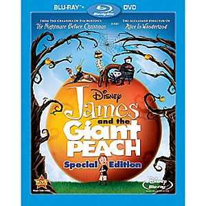James and the Giant Peach 2-Disc Blu-ray and DVD