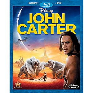 John Carter 2-Disc Blu-ray and DVD