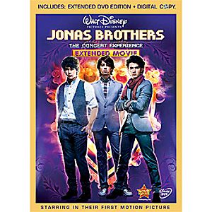 Jonas Brothers: The Concert Experience Extended 2-Disc DVD and Digital File