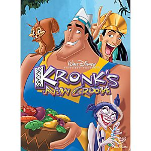 Kronks New Groove DVD