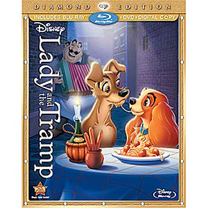 Lady and the Tramp 3-Disc Blu-ray, DVD and Digital File Diamond Edition
