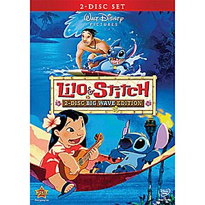 Lilo and Stitch: Big Wave Edition DVD