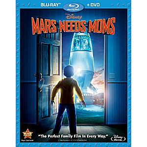 Mars Needs Moms 2-Disc Blu-ray and DVD
