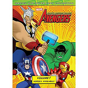 Marvels The Avengers: Heroes Assemble Volume 1 DVD