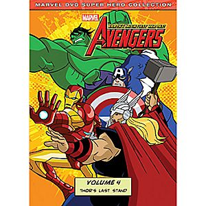 Marvels the Avengers: Thors Last Stand Volume 4 DVD