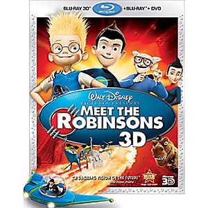 Meet the Robinsons 3-Disc Blu-ray, Blu-ray 3D and DVD