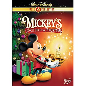 Mickeys Once Upon a Christmas DVD Gold Collection