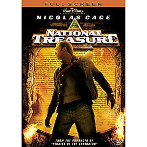 National Treasure DVD Fullscreen