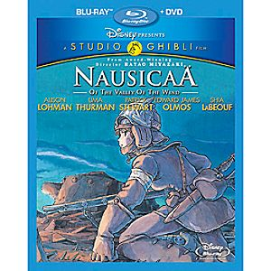 Nausicaa of the Valley of the Wind 2-Disc Blu-ray and DVD