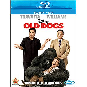 Old Dogs 2-Disc Blu-ray and DVD