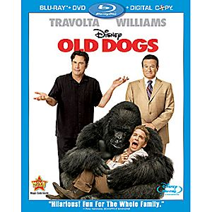 Old Dogs 3-Disc Blu-ray, DVD and Digital File