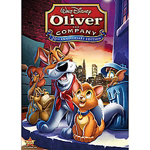 Oliver and Company 20th Anniversary Edition DVD